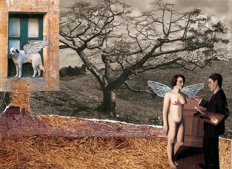 Lakner Zsuzsa: Múzsák egymás közt (A Susannia partjai című kiállítás anyagából)