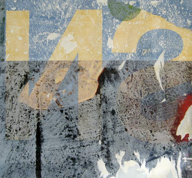 Torma Cauli: Plakát-kollázs (A kiállítás anyagából)