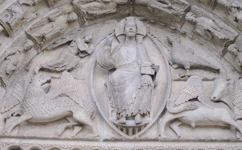 Krisztus-szobor a chartres-i székesegyházon, 1145–1150