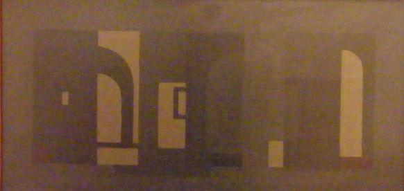 Barcsay Jenő: Fény-árnyék, 1980. (Forrás: Haas Galéria)