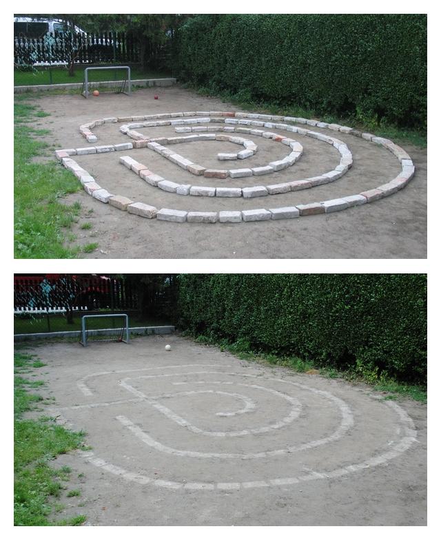 Domszky Zsófi labirintusa, 2011 (Fotók: Láng Eszter és Zsubori Eszter)