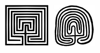 Nap Apa és Földanya labirintus