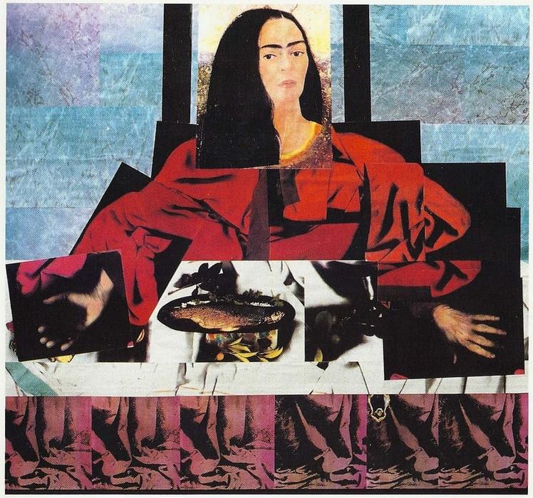 Dina Dar: Jézus (részlet a Le dernier souper című kiállítás anyagából)