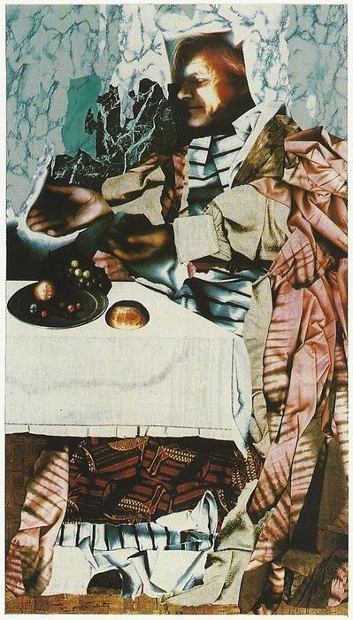 Gérard Ollivier: Simon (részlet a Le dernier souper című kiállítás anyagából)