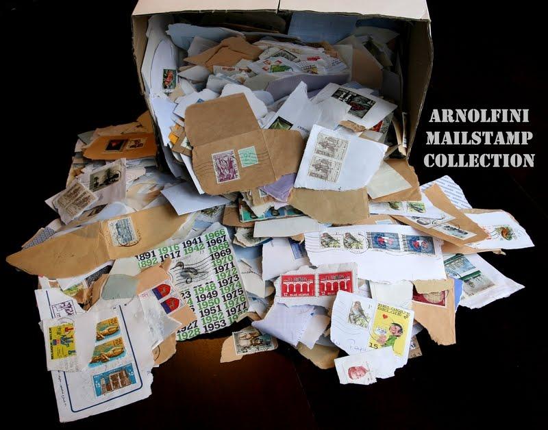 Az Arnolfini MailStamp Collection (Zsubori Ervin felvétele)