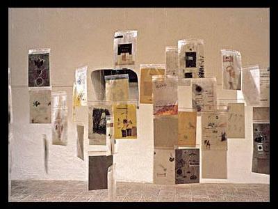 Tasnádi József: Aszterion, 1996 (részlet az installációból)