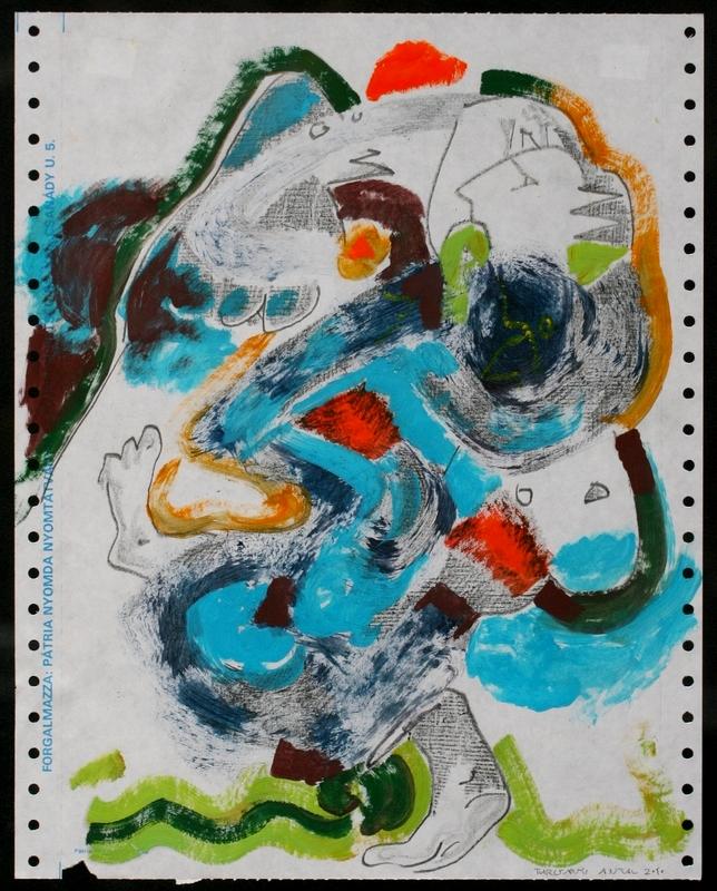 Turcsányi Antal: Napi jegyzet, 2010 (Részlet a sorozatból)