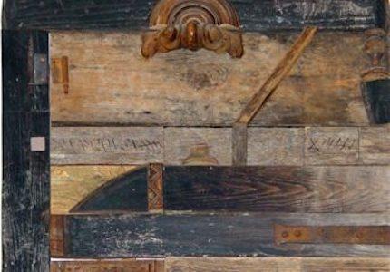 Birkás István: Házi oltár, 1998 (Forrás: Körmendi Galéria)