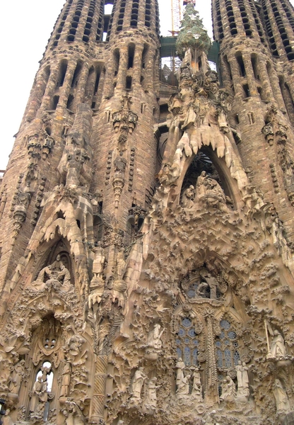 Barcelona, Sagrada Família, 2011 (Lakner Zsuzsa felvétele)