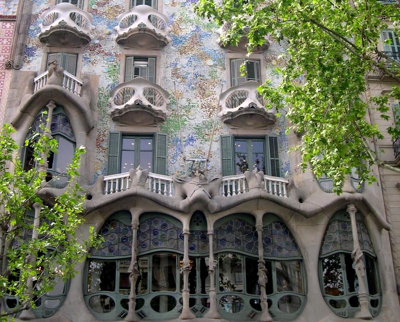Barcelona, Casa Batlló, 2011 (Lakner Zsuzsa felvétele)