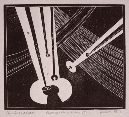 Torok Sándor: Fenyegetés a térben XII, 1969