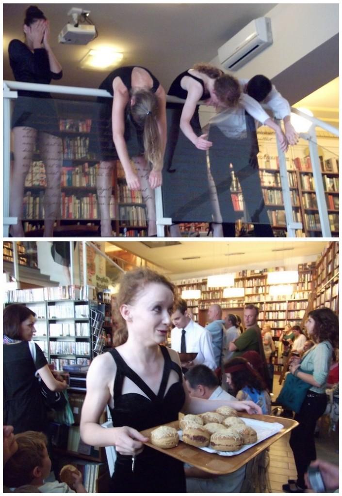 Kortárs tánc az Írók Boltjában (Fotók forrása: Tánckritika.hu)