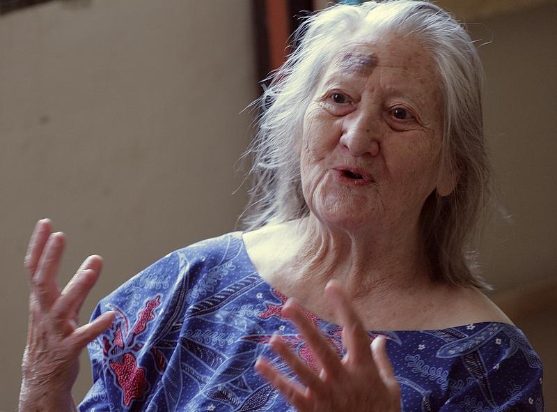 Csókos Varga Györgyi (Fotó: Zsubori Ervin, 2011)