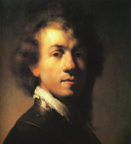 Rembrandt: Önarckép (1629.; Germanisches Nationalmuseum, Nürnberg)