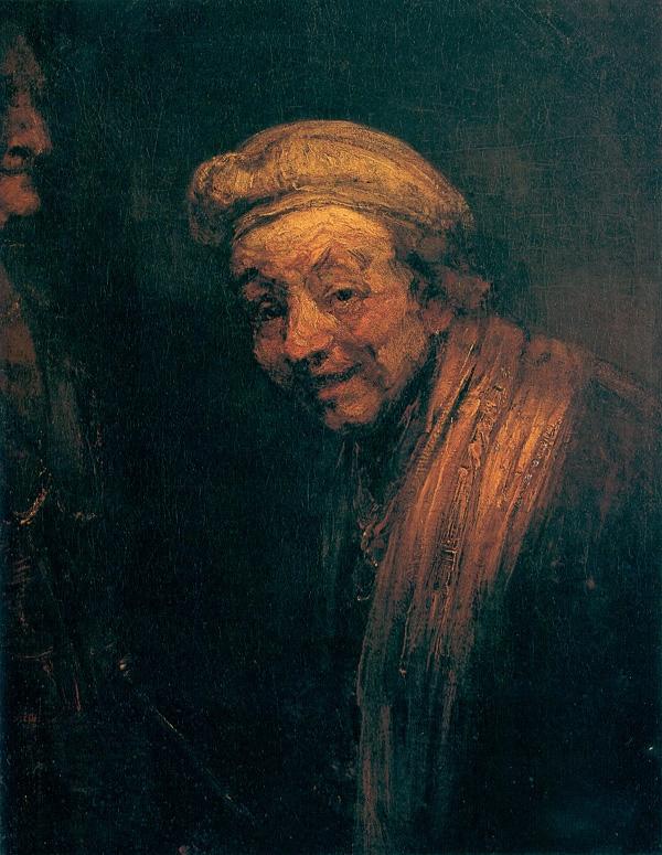 Rembrandt: Önarckép Zeuxisként (1668–1669., Wallraf-Richartz Museum, Köln)