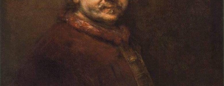 Rembrandt: Önarckép (1669; olaj, vászon; 86 × 70,5 cm; National Gallery, London)