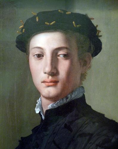 Agnolo Bronzino: Fiatal férfi könyvvel (részlet)