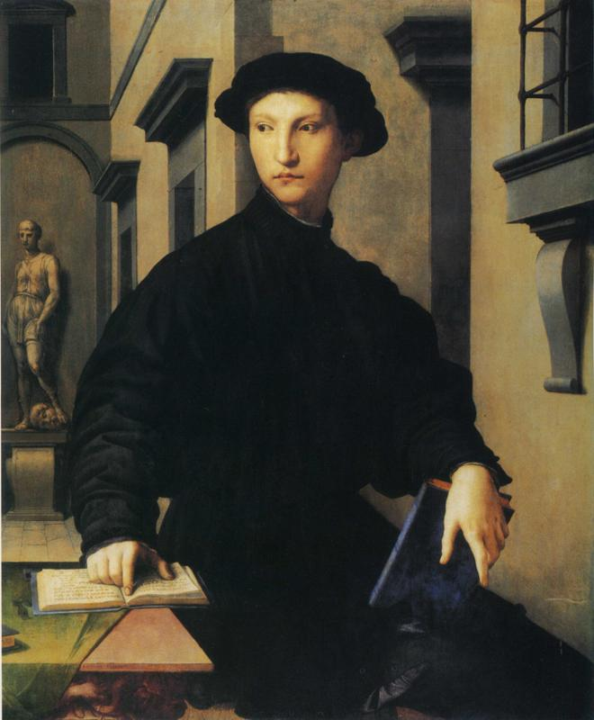 Agnolo Bronzino: Ugolino Martelli (1536–1537, Staatliche Museen, Berlin)