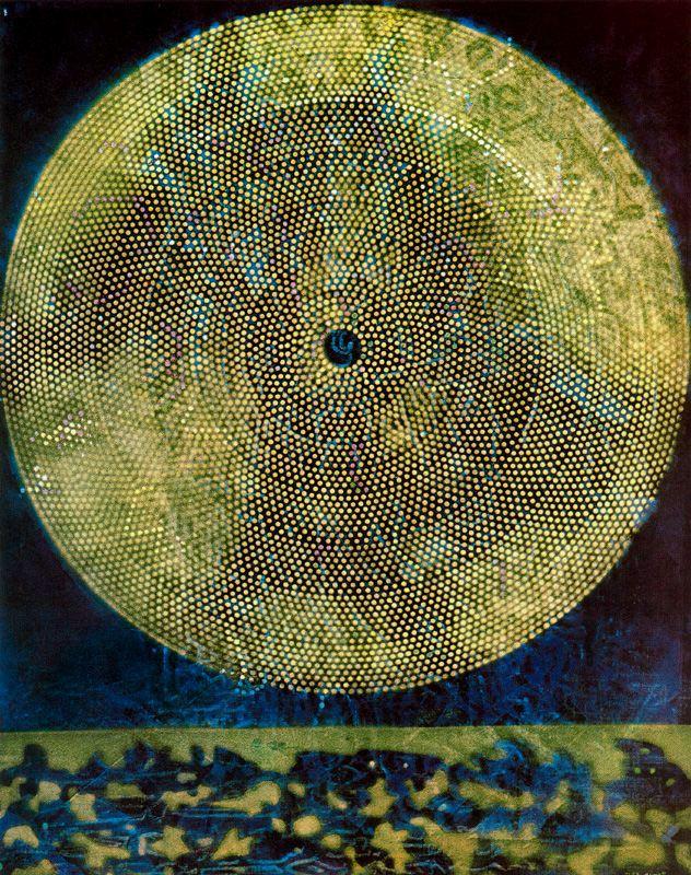 Max Ernst: A galaxis születése, 1969