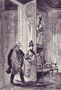 Max Ernst: La femme 100 têtes, 1929 (részlet a sorozatból)