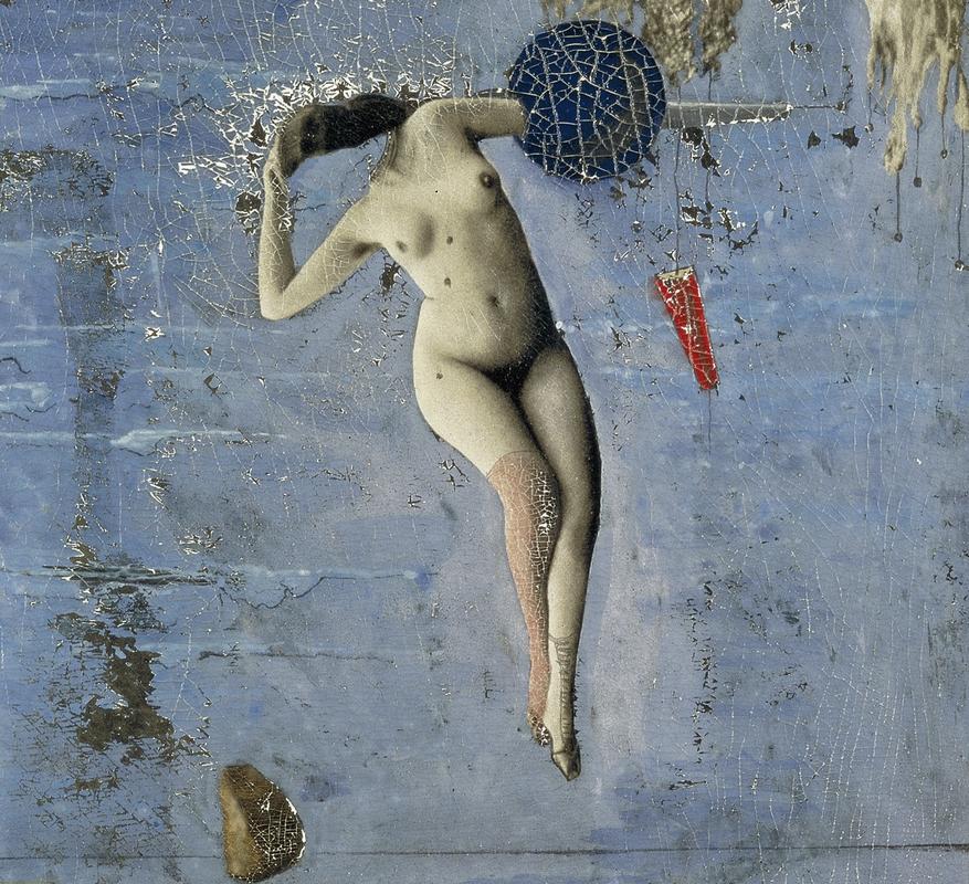 Max Ernst: A pubertás közeledik, avagy a Plejádok, 1921 (részlet)