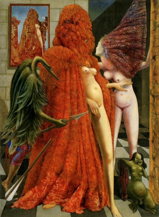 Max Ernst: A menyasszony öltöztetése, 1940
