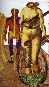 Max Ernst: A szó, avagy a nőmadár, 1921