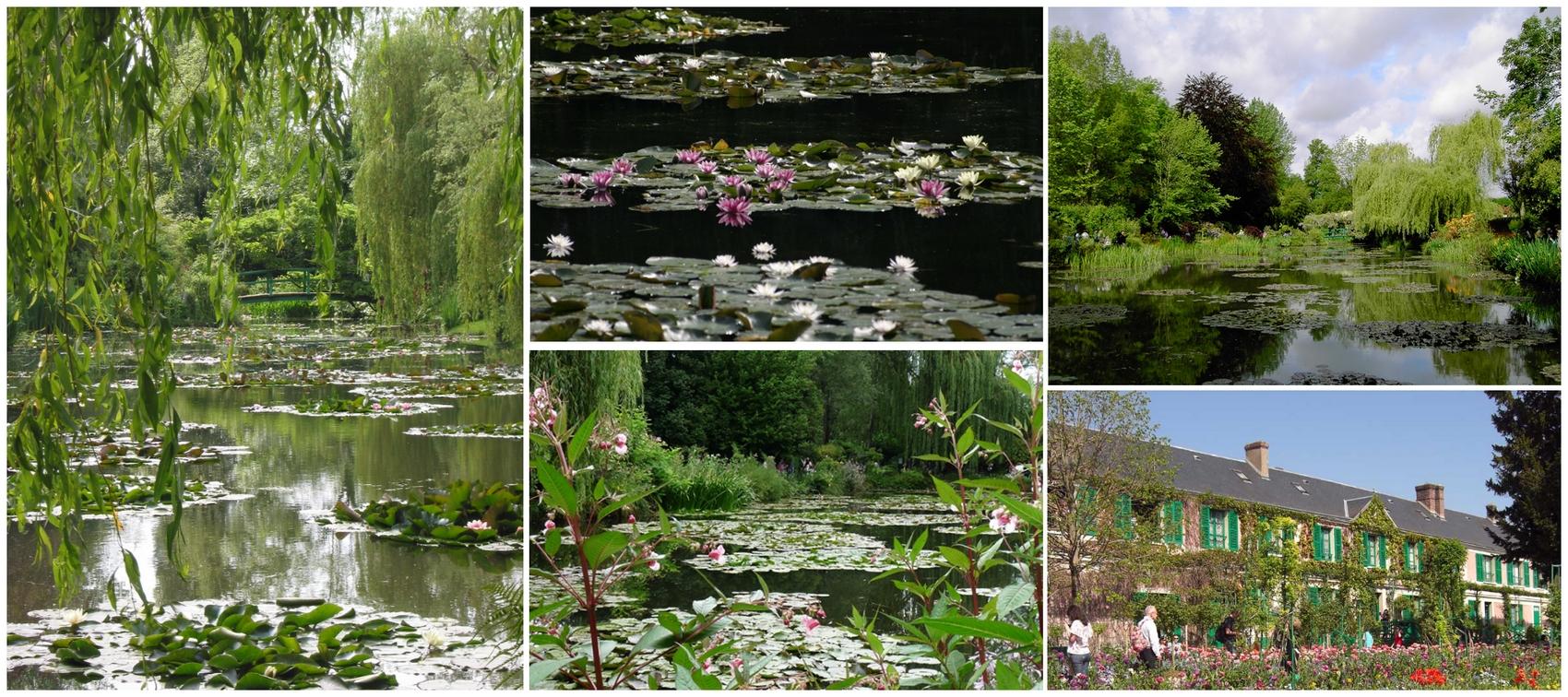 Monet kerjte, Giverny
