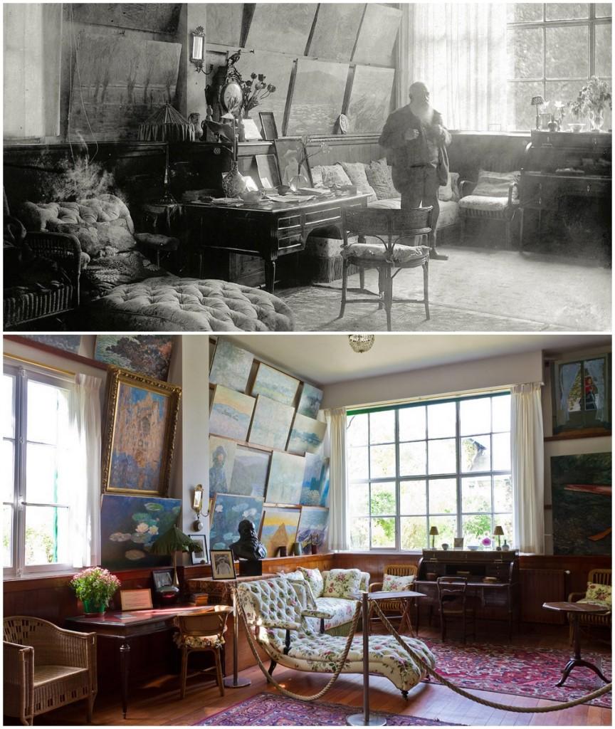 Monet műterme Givernyben