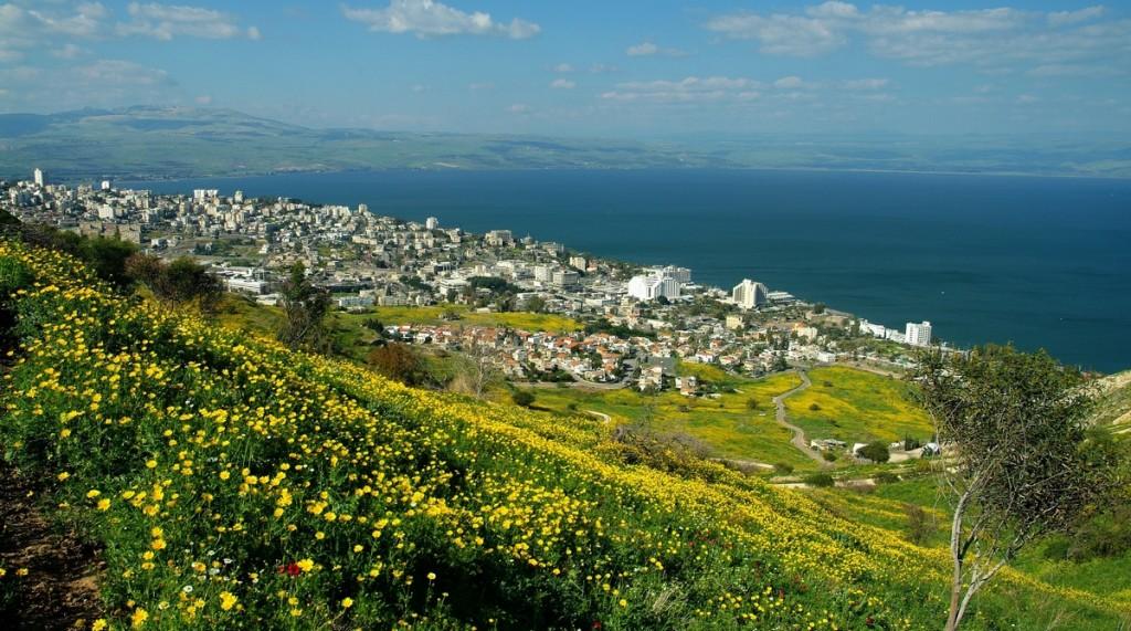 Tiberias a Galileai-tóval
