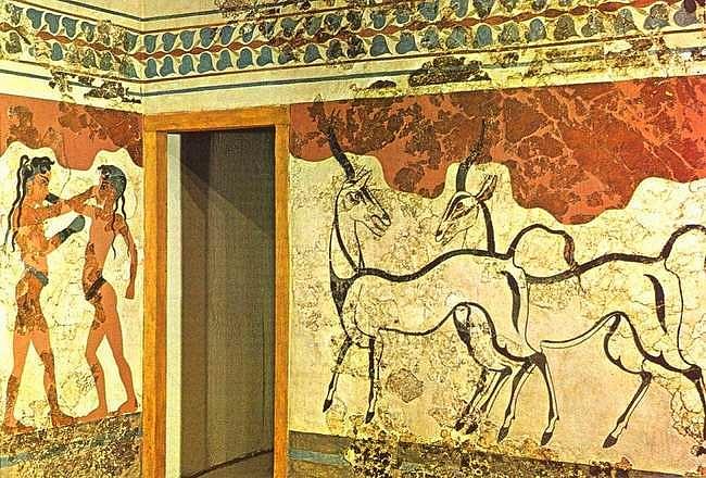 Freskók (Akrotiri)