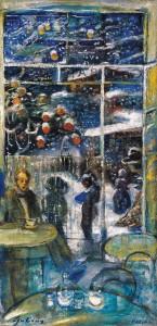 Gulácsy Lajos: Nakonxipánban hull a hó, 1910 körül