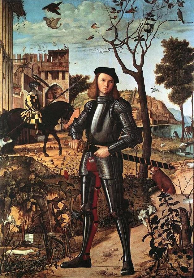 Vittore Carpaccio: Lovag arcképe, 1510