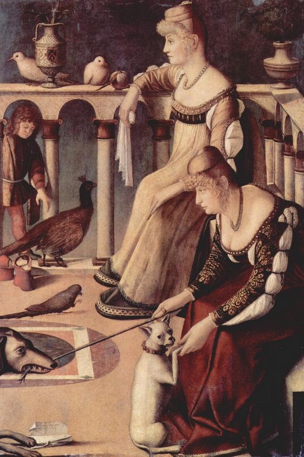 Vittore Carpaccio: Két kurtizán (Dámák), 1510 körül