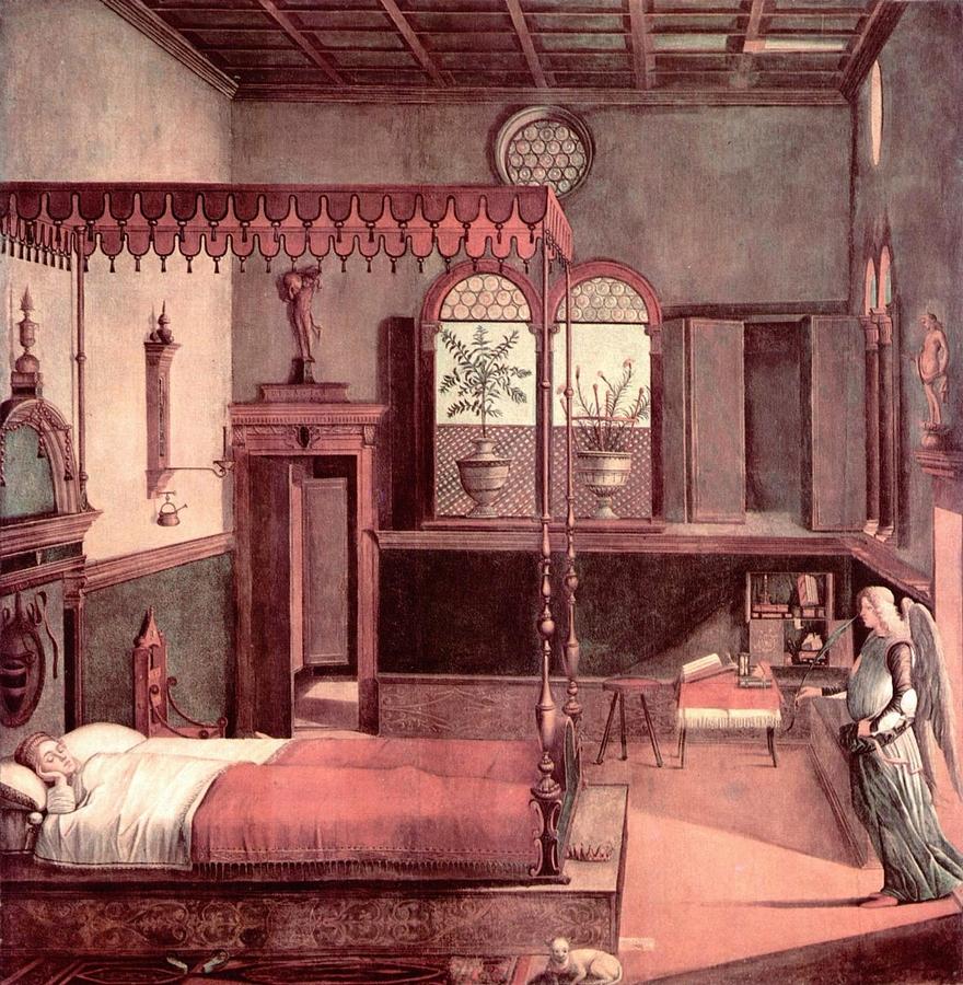 Vittore Carpaccio: Szent Orsolya álma, 1495