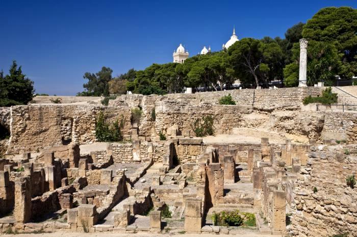 Karthágói kövek, Byrsa negyed