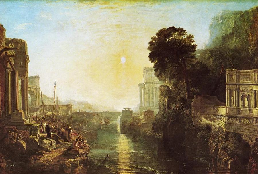 JMW Turner: Dido felépíti Karthágót, 1815