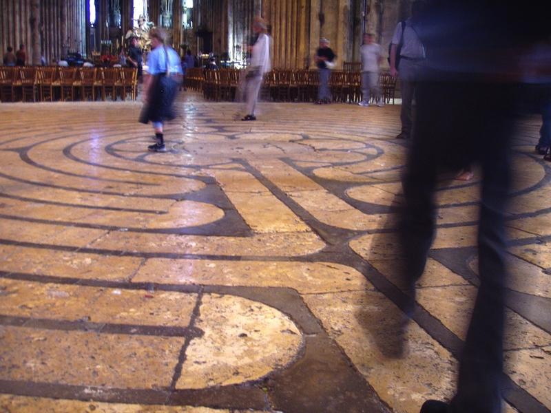 Labirintus, Chartres