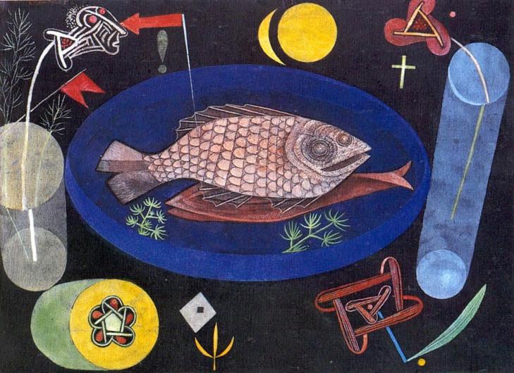 Paul Klee: A hal körül, 1926