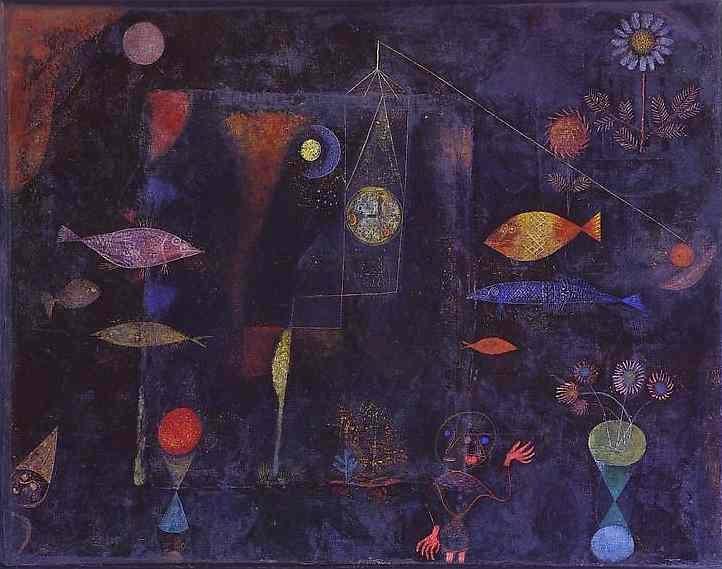 Paul Klee: Mágikus halak, 1925