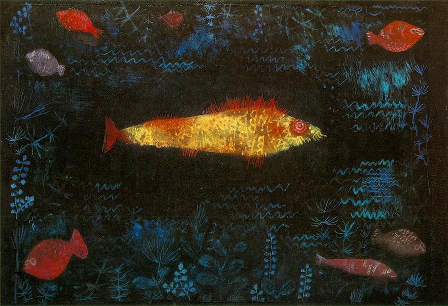 Paul Klee: Az aranyhal, 1925