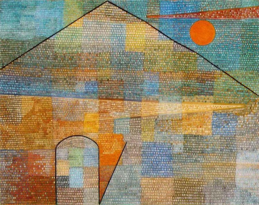 Paul Klee: Ad Parnassum, 1932