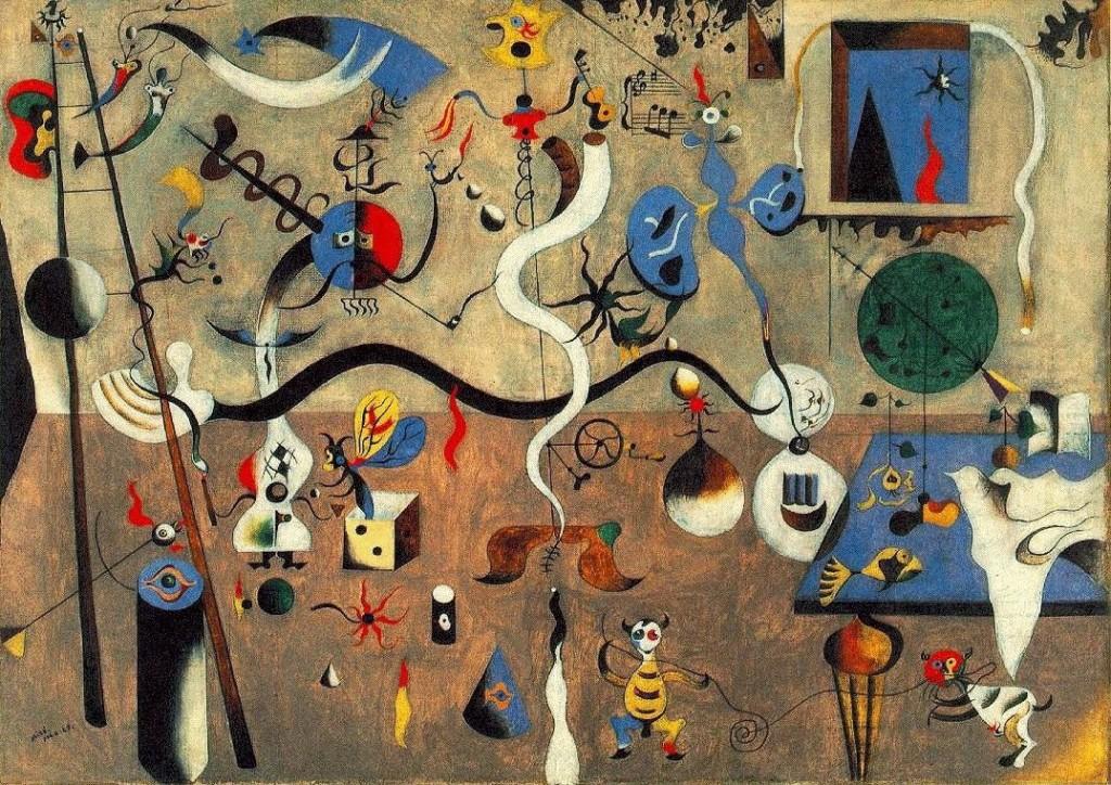 Joan Miró: Bohóc karnevál, 1924