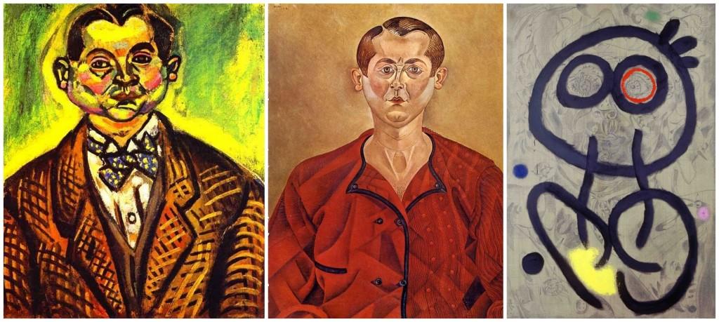 Joan Miró: Önarcképek - 1917; 1918; 1937-1960