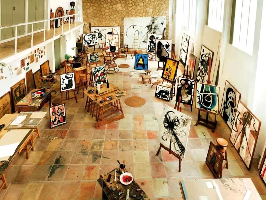 Miró műterme Mallorcán