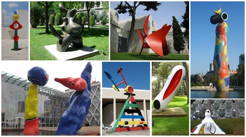 Joan Miró szobrai