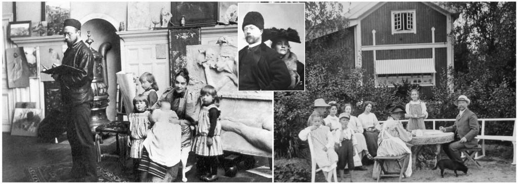 Fotók a Larsson család életéből