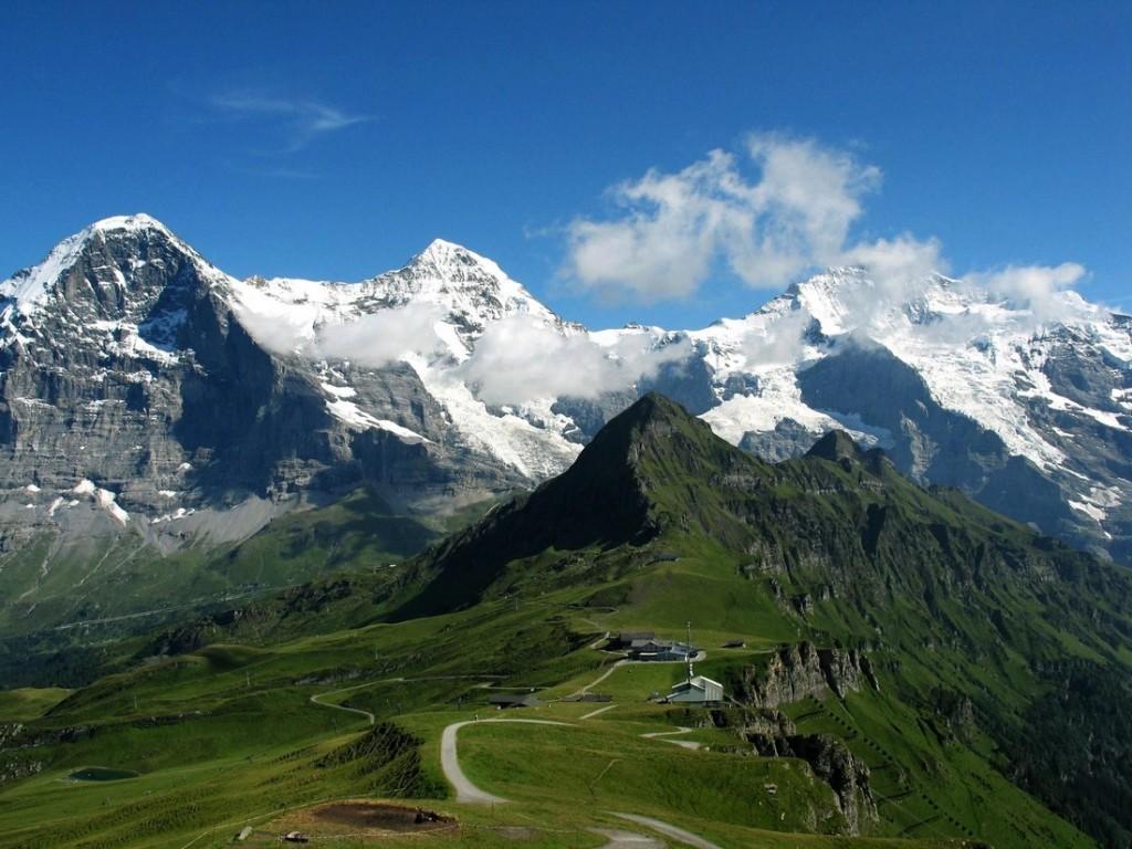 Eiger, Mönch és Jungfrau, Svájc