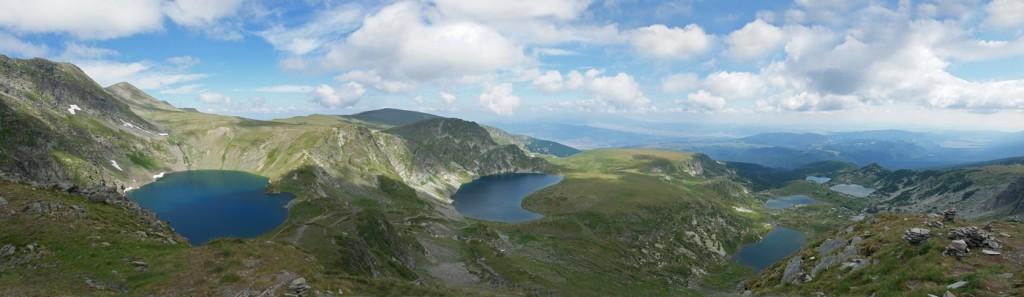 A Hét rilai tó völgye, Bulgária
