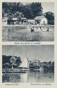 Szigetszentmiklósi képeslap; Vöő Imre gyűjtése